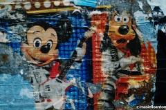 Goofy and Mickey